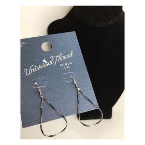 Universal Thread | NWT Silver & Blue Hoop Earring